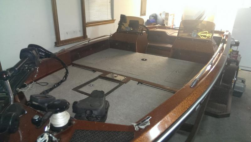 Fishing Deck Extension Project For Older Tri Hull