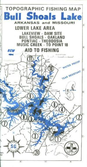 Looking To Buy: Old Bull Shoals Topo Map - Buy - Sell - Trade ...