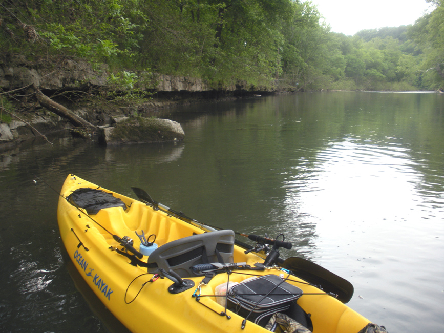 Shelvin rock to hootentown james river ozarkanglers for James river fishing report
