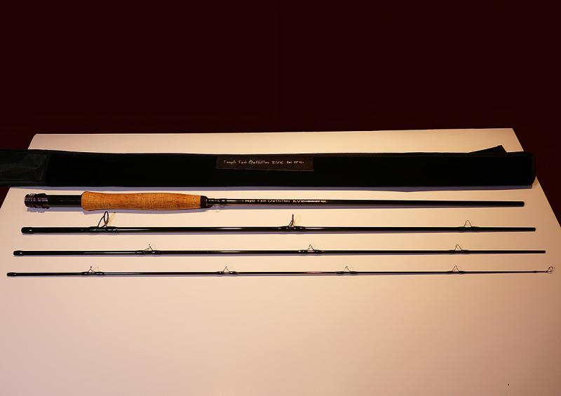 Temple Fork Outfitters Tfo Bvk 5wt 9ft 4pc Fly Rod Buy Sell