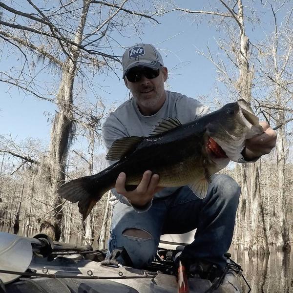 Winter bass fishing has been fun general angling for Winter bass fishing