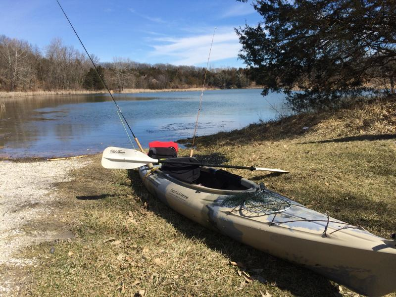 Fishing kayak buy sell trade ozarkanglers for Field and stream fishing kayak