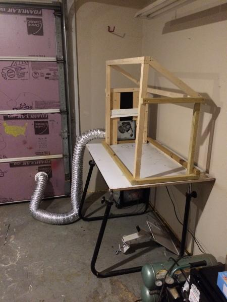 DIY portable paint booth - General Angling Discussion ...