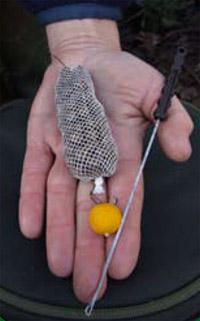 Сетка для прикормки рыбы