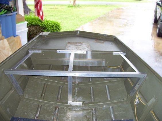 Extending front deck on jon boat - Tips & Tricks, Boat Help